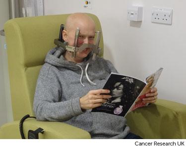 Having radiosurgery treatment