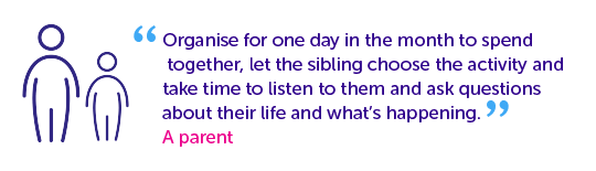 Quotes from parents - choose an activity