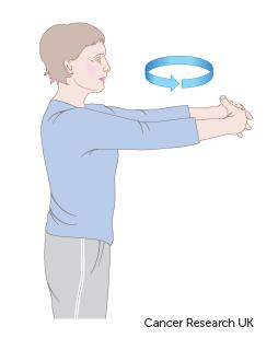 Diagram of how to do a tree hug